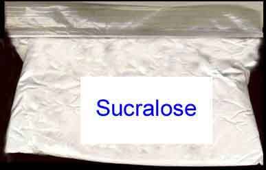 Sucralose package 50-Kg/110-Lb Sugar-Equivalent